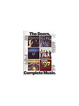 The Doors: Complete Music. Partitions pour Piano, ...
