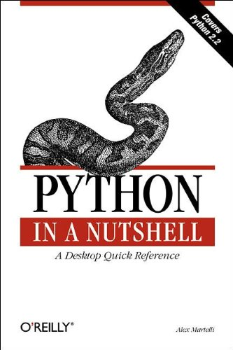 Python in a Nutshell (en anglais)
