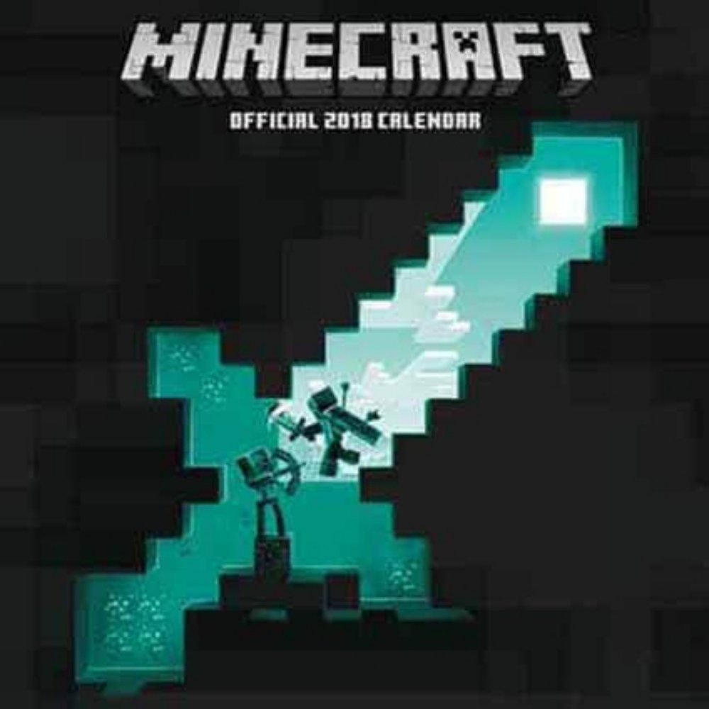 Minecraft Official 2018 Calendar - Square Wall For...