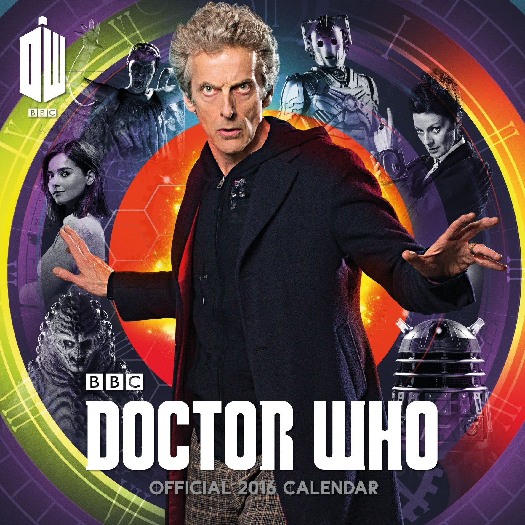 Official Doctor Who 2016 Square Wall Calendar (BBC...